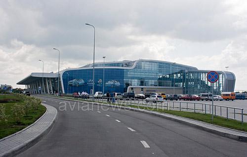 Новый терминал аэропорт львов общий